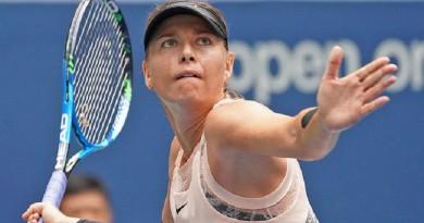 ماريا شارابوفا تودع بطولة أستراليا المفتوحة
