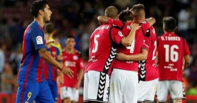 إحصائية تساند ديبورتيفو ألافيس لتعطيل قطار برشلونة