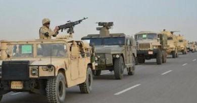 """الجيش المصري: القضاء على 16 """"عنصرا تكفيريا"""" وتدمير 66 هدفا في عملية سيناء"""