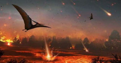 اكتشاف سبب محتمل لانقراض الديناصورات