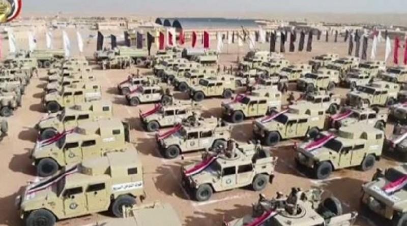 سيناء.. تدمير مخازن أسلحة واستمرار العملية الشاملة