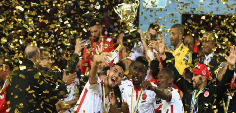 الوداد المغربي يتوج بطلًا لكأس السوبر الإفريقي