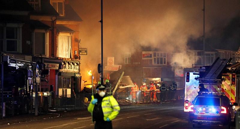 ارتفاع حصيلة انفجار ليستر في وسط بريطانيا إلى خمسة قتلى
