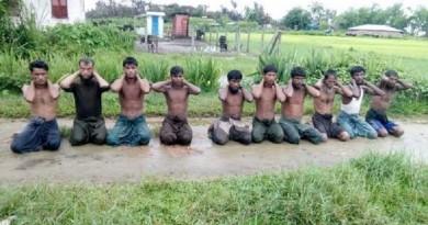 ميانمار تعتزم اتخاذ إجراءات ضد رجال أمن على خلفية قتل روهينجا
