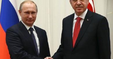 الكرملين: بوتين وأردوغان بحثا التنسيق العسكري في سوريا
