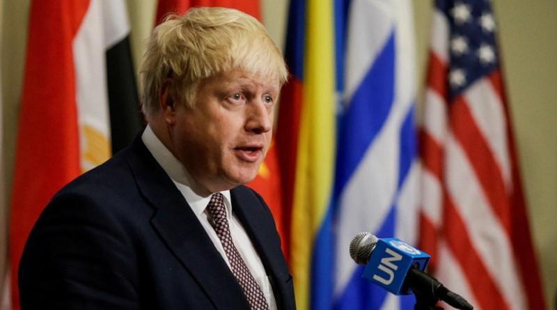 جونسون: لندن قلقة من دور إيران في مواجهة على حدود إسرائيل وسوريا