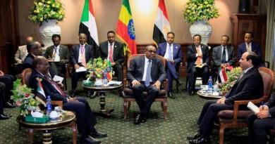 السيسي يشدد على ضرورة تنفيذ نتائج قمة أديس أبابا حول سد النهضة