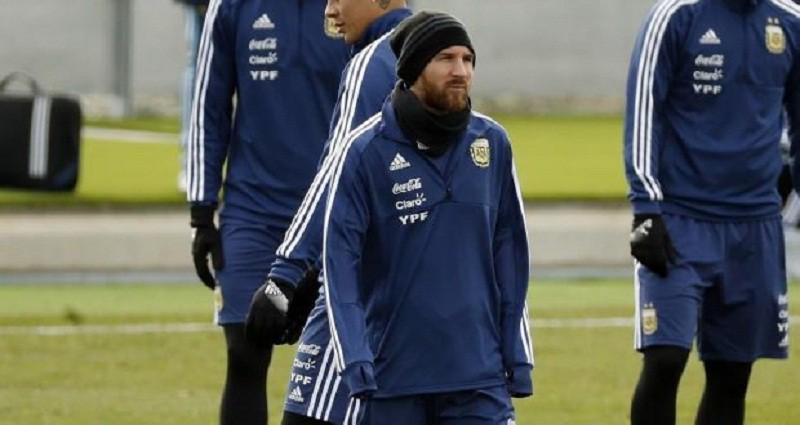 ميسي يعود الى تدريبات المنتخب الأرجنتيني