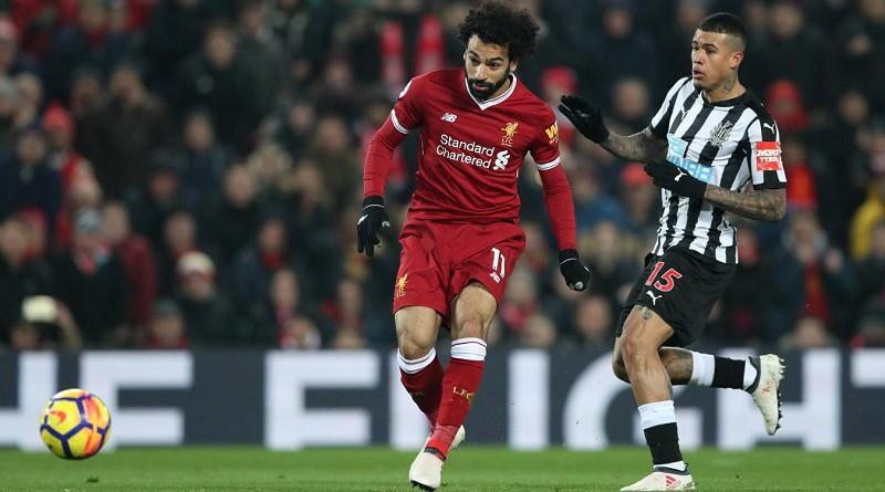 محمد صلاح يسجل في فوز ليفربول على نيوكاسل يونايتد بالبريميرليج