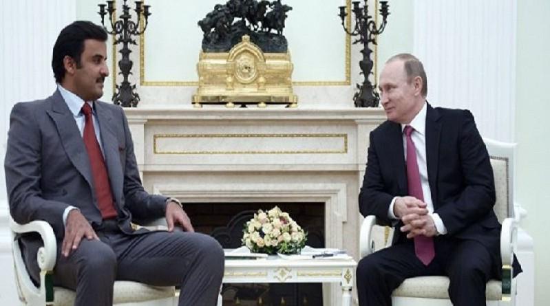 بوتين يلتقي أمير قطر في موسكو بعد غد
