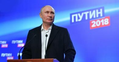 أمين عام الأمم المتحدة يهنئ بوتين بالفوز في الانتخابات الرئاسية