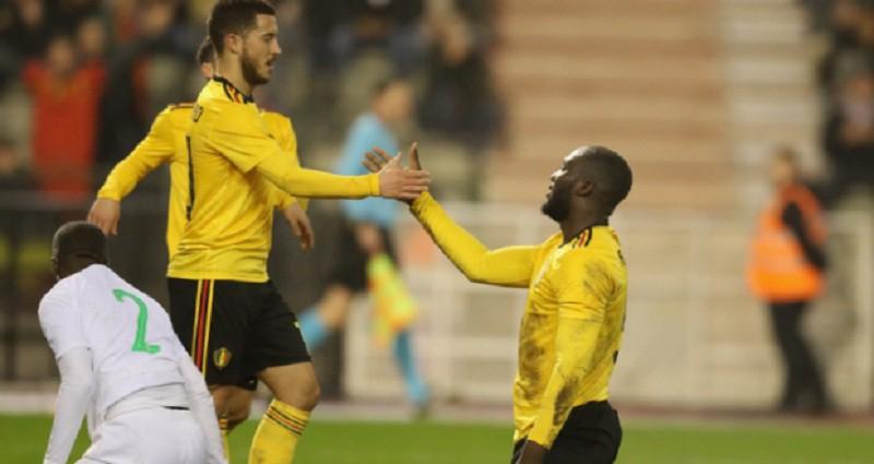 بلجيكا تحقق فوزاً كاسحاً على السعودية ودياً