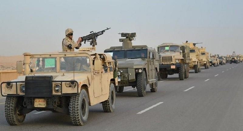 مقتل 10 إرهابيين شديدي الخطورة في سيناء