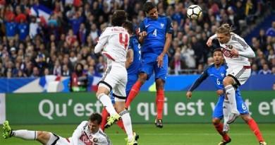 اهداف مباراة روسيا وفرنسا