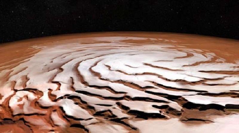أكتشاف ظروف تكون الماء في المريخ