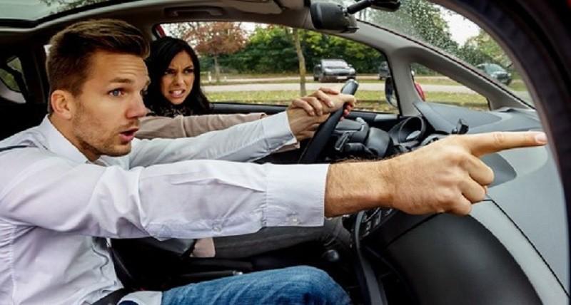 أغلب المشاحنات الزوجية تتم في السيارة!