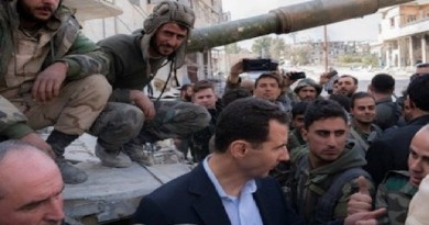 بشار يخاطب قواته: تخوضون معركة ضد الإرهاب