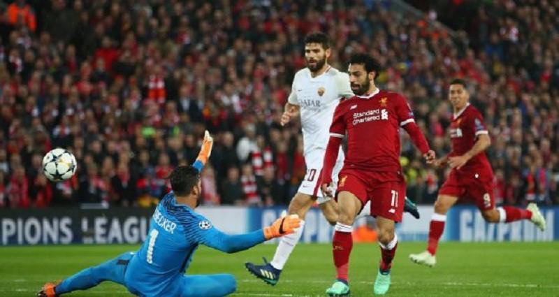 بالفيديو ... ليفربول يضع قدماً في نهائي دوري الأبطال بفوز كبير على روما
