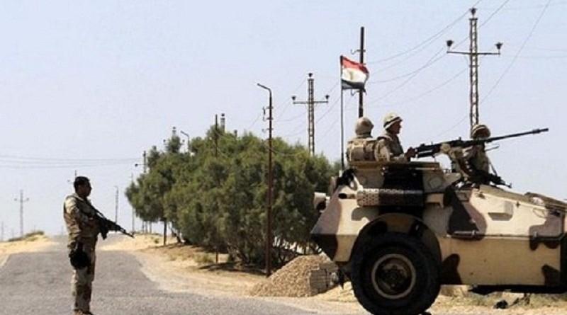 الجيش المصري يعلن مقتل عسكريين و6 مسلحين
