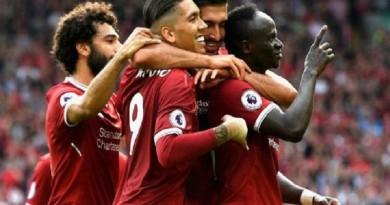 تشكيلة ليفربول في مواجهة مانشستر سيتي