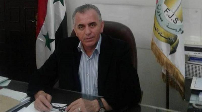 رئيس اتحاد الصحفيين السوريين
