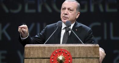 أردوغان يطالب قادة العالم الاسلامي باتخاذ موقف