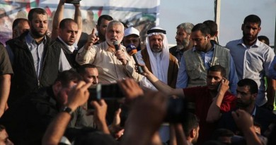 """إسماعيل هنية: سنحوّل ذكرى النكبة إلى """"نكبة"""" تحل بإسرائيل"""