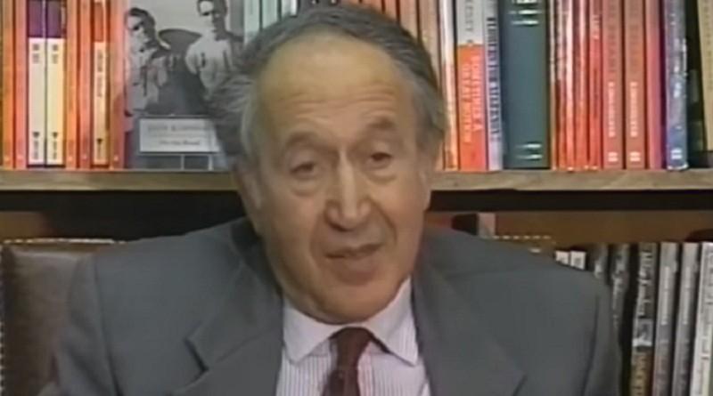 """وفاة المؤرخ العالمي """"ريتشارد بايبز"""""""