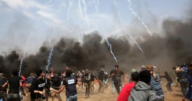 مجزرة فى قطاع غزة يوم نقل السفارة الأمريكية للقدس وذكرى النكبة