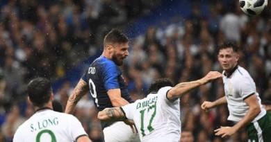 فرنسا تفوز على إيرلندا بثنائية نظيفة ضمن الإستعدادات لكأس العالم