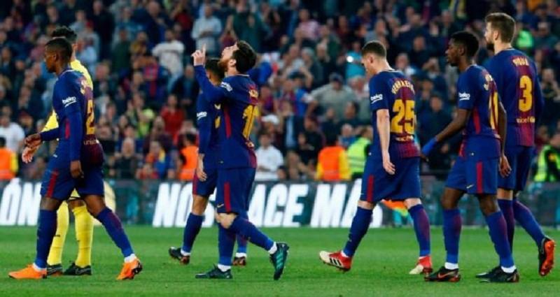 بالفيديو...برشلونة يسحق فياريال بخماسية