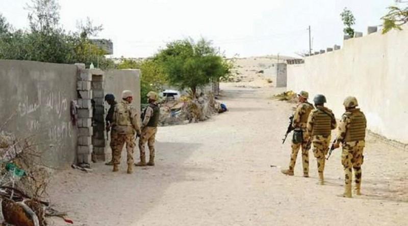 مقتل 21 من «العناصر التكفيرية» في سيناء