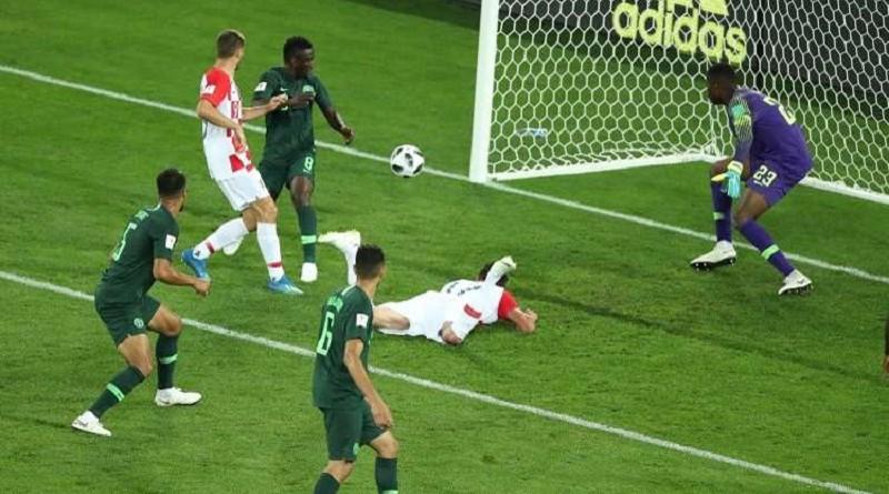 نيجيريا تتلقى اولى هزائمها في مونديال روسيا 2018