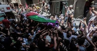 فلسطين تودع رزان النجار في جنازة مهيبة