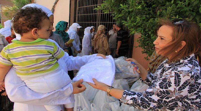 جمعية رعاية أطفال السجينات تزور أطفال سجن دمنهور وملابس وهدايا للأمهات