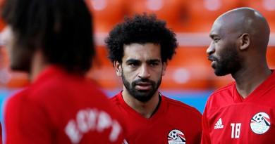 محمد صلاح فى أول تعليق بعد هزيمة مصر أمام روسيا