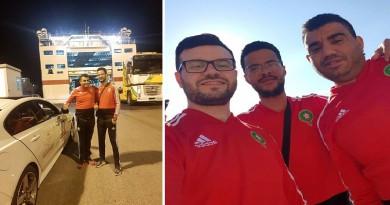 مغربيان يقطعان 9000 كلم بالسيارة لمساندة المنتخب المغربي في المونديال