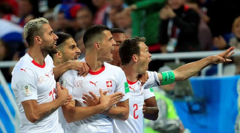 """سويسرا تغتال أحلام صربيا في مونديال الوقت """"القاتل"""""""