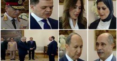 القائمة الكاملة لوزراء حكومة المهندس مصطفى مدبولى