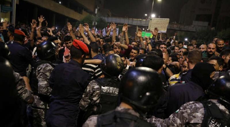 احتجاجات الأردن حالة فريدة