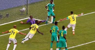 """بالفيديو...كولومبيا """"تركل"""" السنغال خارج مونديال روسيا"""