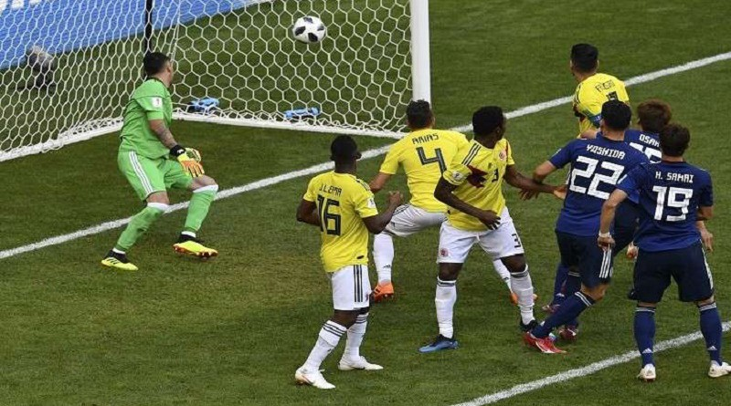 بالفيديو...اليابان تتغلب على كولومبيا في مونديال روسيا