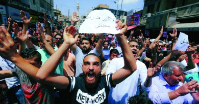 القرارات الاقتصادية للحكومة الأردنية تجدد الحراك الشعبي في الشارع
