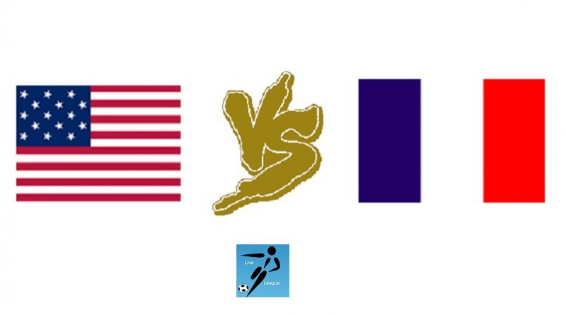 فرنسا وامريكا مباراة ودية