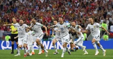 بالفيديو...روسيا تقصي إسبانيا وتتأهل لربع نهائي المونديال