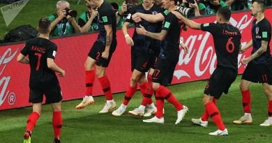 ملخص مباراة انجلترا وكرواتيا كأس العالم 2018