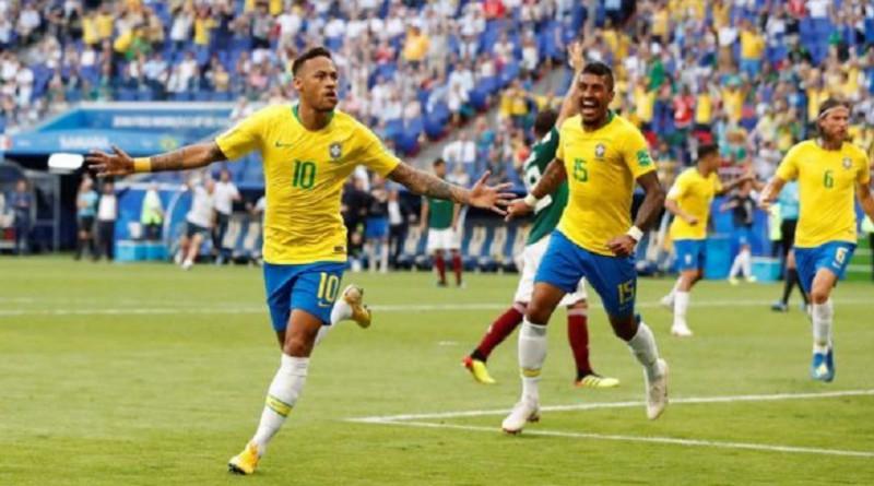 البرازيل تصعق المكسيك وتحجز مقعداً في ربع نهائي المونديال