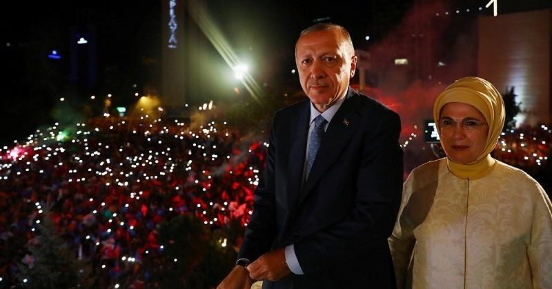 أردوغان يبدأ الإثنين ولاية ثانية رئيساً بصلاحيات تنفيذية واسعة