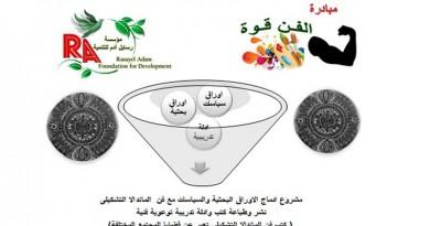 """اطلاق """" مبادرة الفن قوة """"  للفنان التشكيلى محمد رزق"""