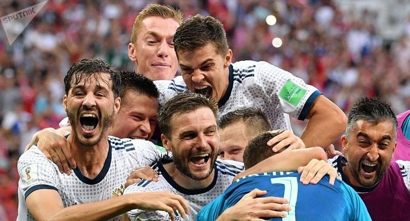 المنتخب الروسي يوجه رسالة للجماهير قبل مباراة كرواتيا